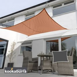 Toldos Vela Kookaburra® Terracotta Rectangular 5.0mx4.0m (Transpirable)