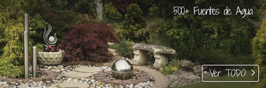 M s de 600 fuentes decorativas desde 23 for Fuentes rusticas para jardin